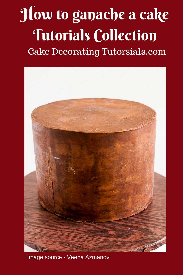 How to cover a cake with ganache, how to ganache are cake perfectly every single time.
