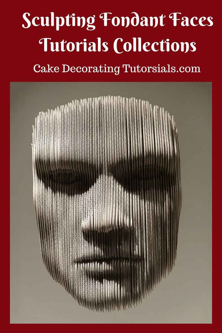 Learn how to make a fondant face with these fondant sculpting tutorials. How to make a gumpaste face tutorial.