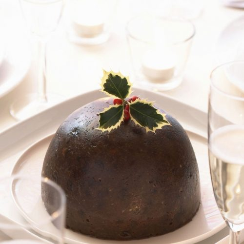 A traditional Christmas Pudding made on the first day of advent every year.