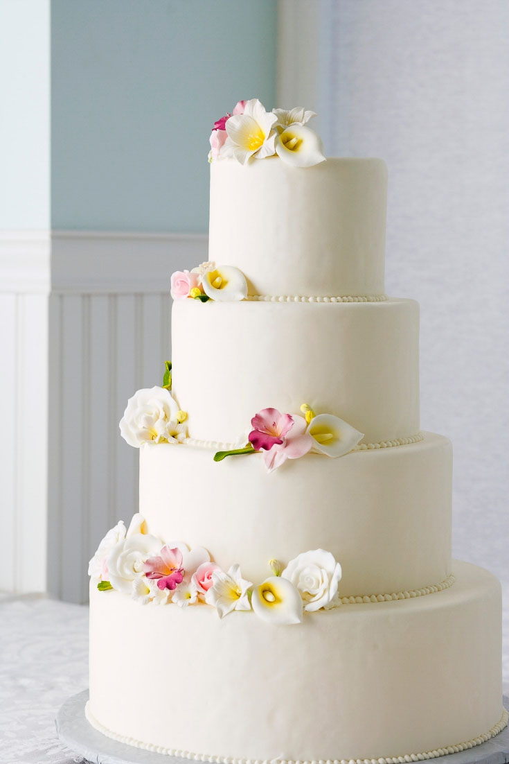 20 Tips For Making Your Own Wedding Cake Cake Decorating