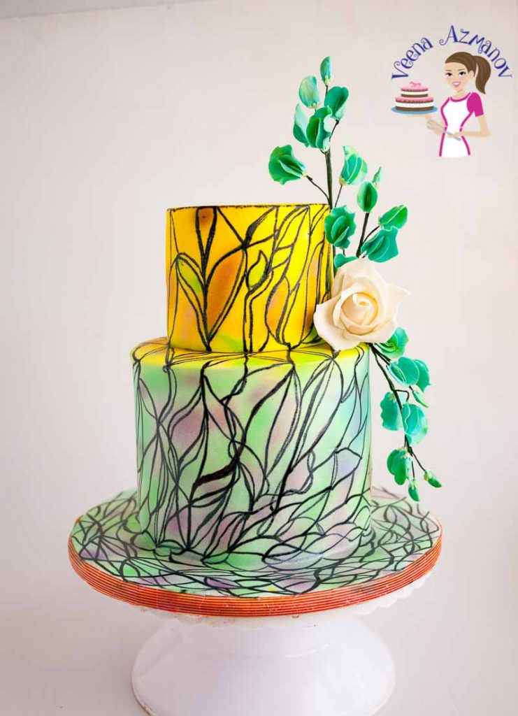 How to make a Stained Glass Cake