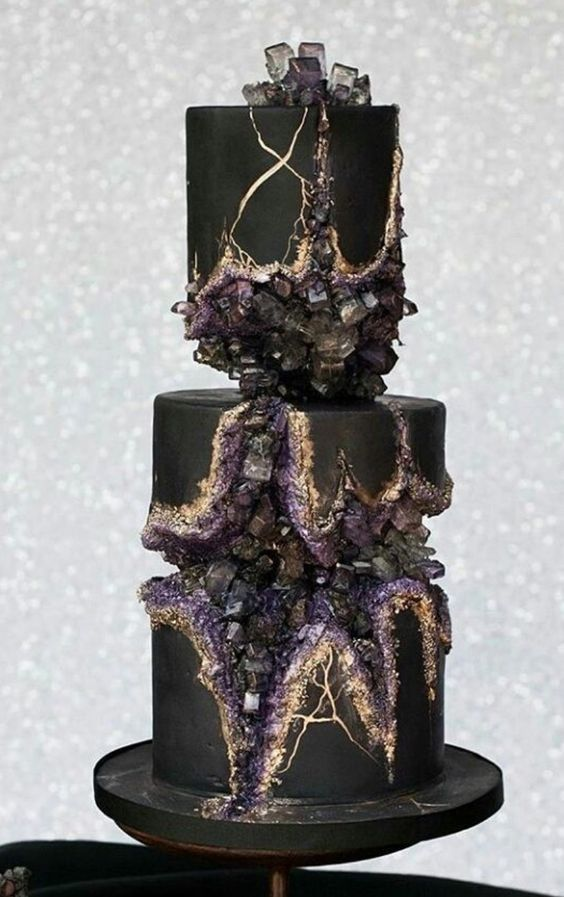 Cake Decorating Tutorials - Geode Cake Inspiration