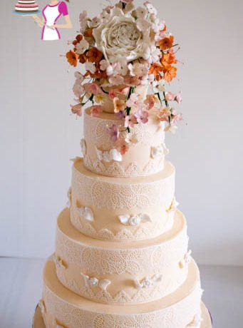 Wedding Cake, Lace, Recipe