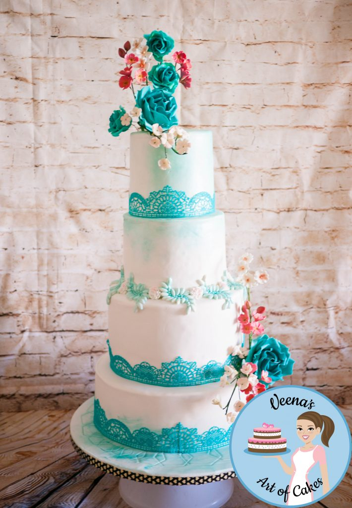Wedding Cake, Edible Lace, Recipe