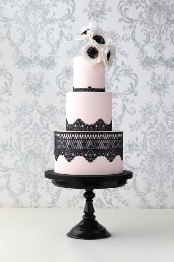 Wedding Cake, Sugar Lace, Recipe