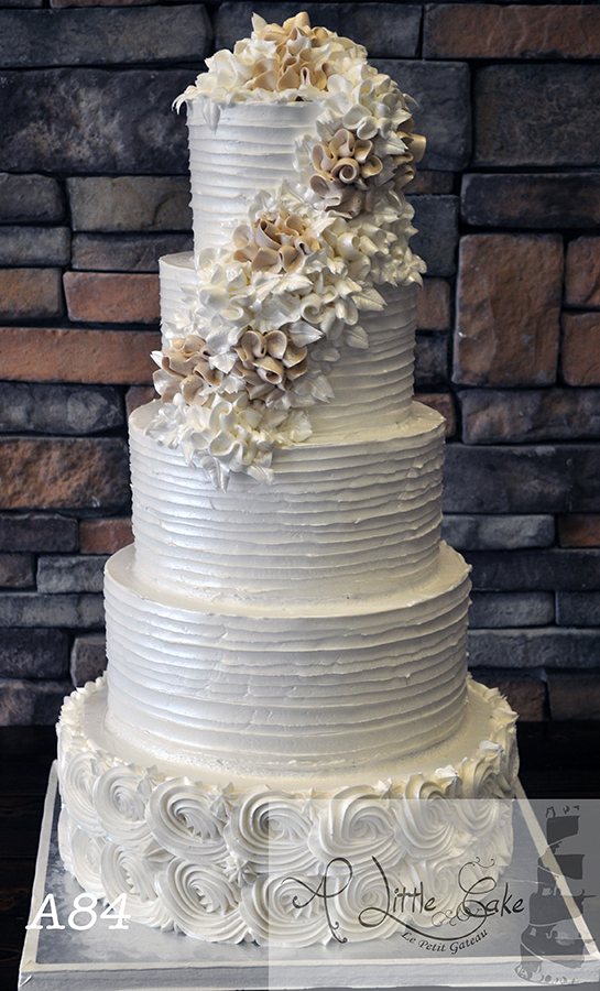 Buttercream Wedding Cake Ideas, DIY Buttercream Wedding Cake