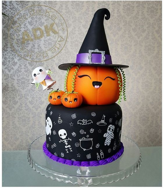Fine 15 Best Halloween Birthday Cakes Cake Decorating Tutorials Funny Birthday Cards Online Barepcheapnameinfo