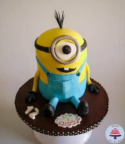 How to make a Cake look like Minions