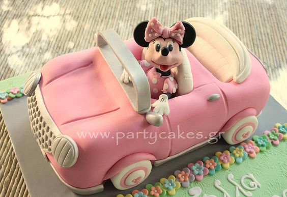 Car Cake for girls