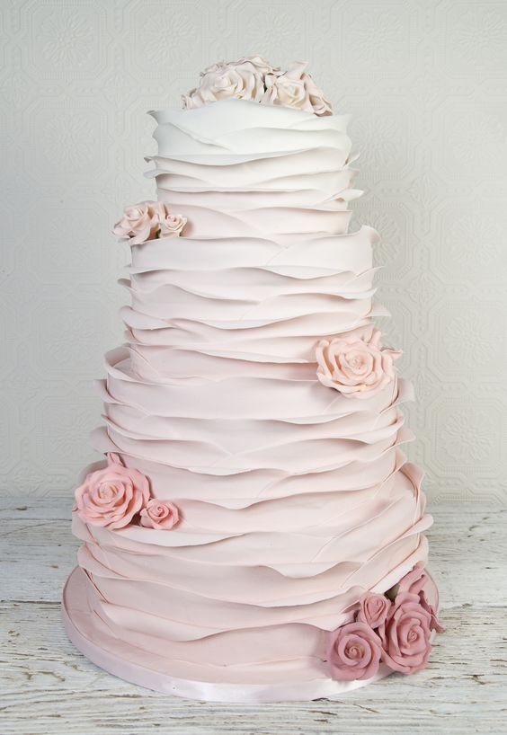 How to make Ruffles on Cakes