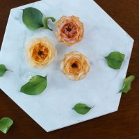 Korean Bean Paste Recipe for Piping Sugar Flowers