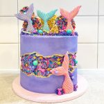Cakes with Fault Line - Recipe tutorial and inspiration
