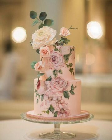how to hand paint on fondant cakes - Best Tutorials