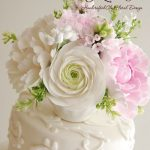 Gorgeous floral work on cakes