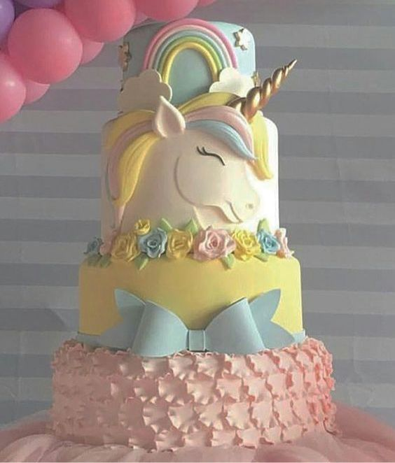 Unicorn cakes are perfect for teen birthdays. Kids love unicorns and here's sharing some cook Unicorn Cake Tutorials. The below theme cakes are easy to make and look absolutely stunning