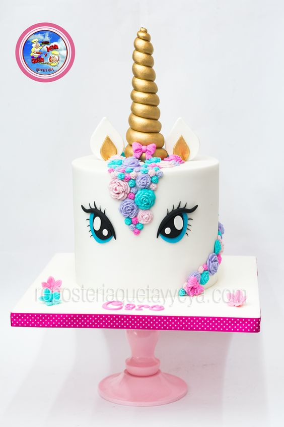 Unicorn cakes for girls