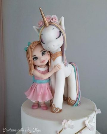 Learn how to make unicorn theme cakes for teen birthday party