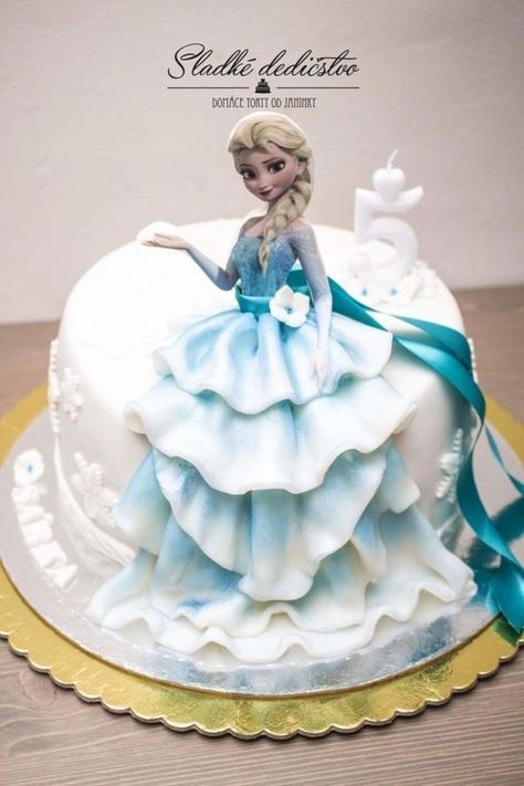Elsa dress dessert for a party