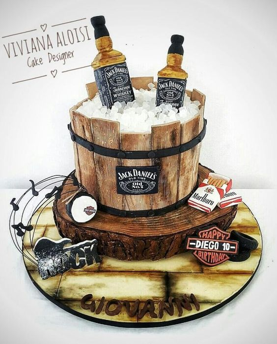 Birthday cake ideas for men