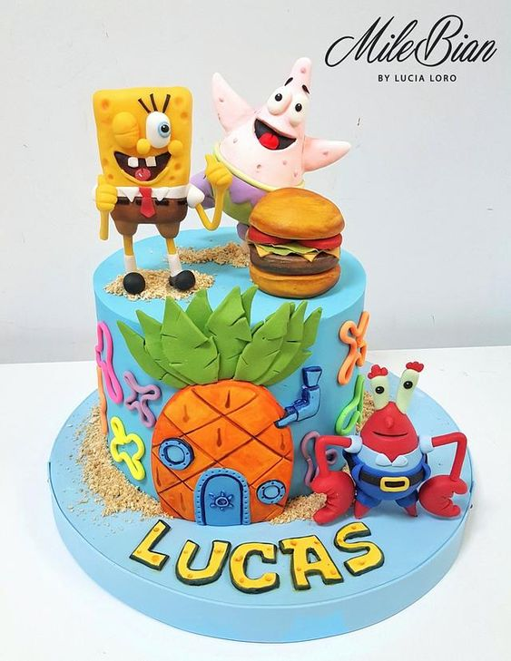 How to make theme cakes from scratch using sugar paste