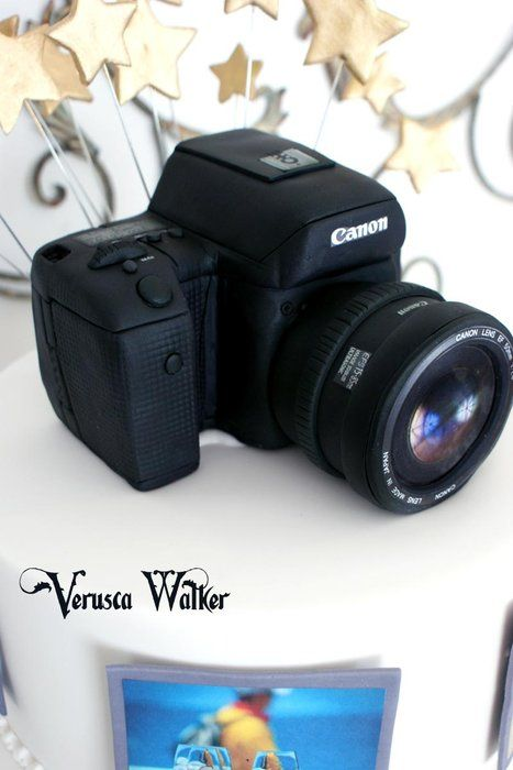 Camera Cake Tutorials on how to make a cake camera