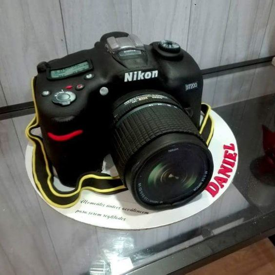 Easy realistic looking cake camera