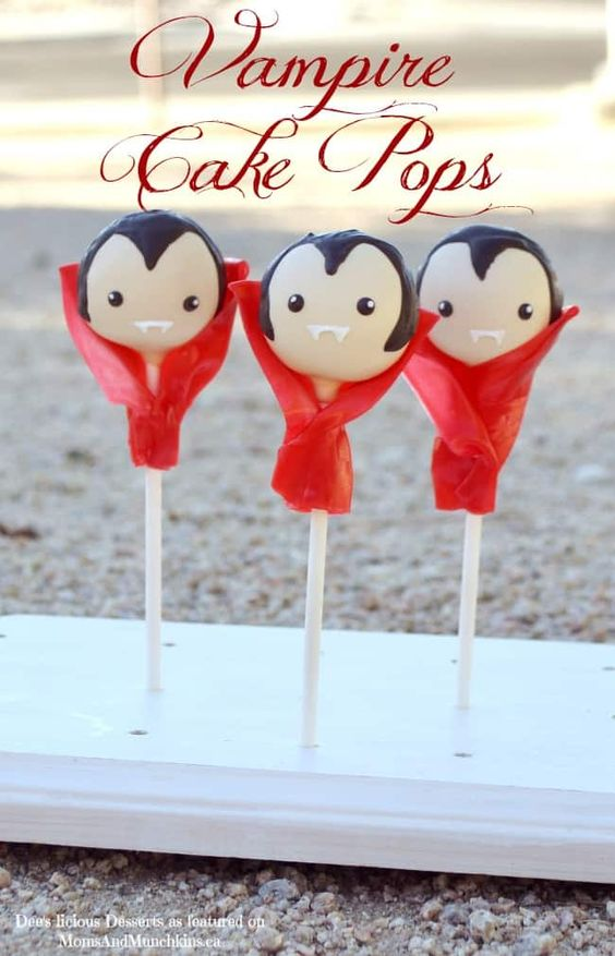 Vampire pops that are perfect for Halloween