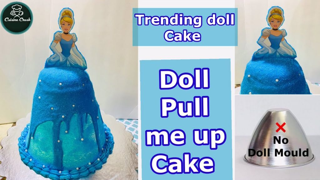 blue doll cake - Pull me up cake tutorials