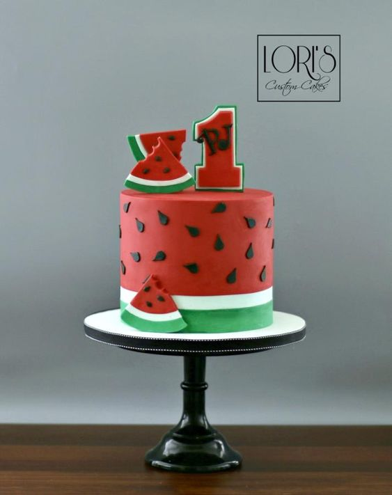 water melon theme Fruits Inspired Cake Ideas