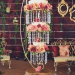 4 BEST Chandelier Wedding Cakes Tutorials - with roses on it