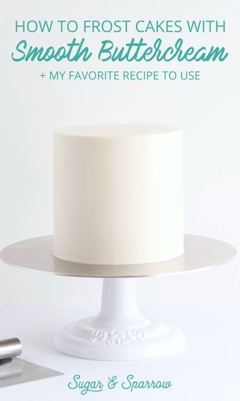 Layer And Frost Cake Tutorials - Layering, torting a cake